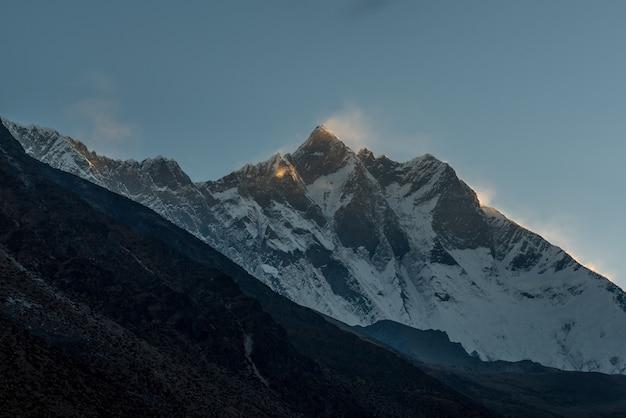 Dingboche village, everest base camp trek from tengboche to dingboche , nepal