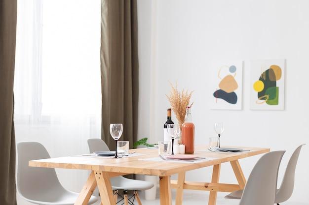 Dining room arrangement