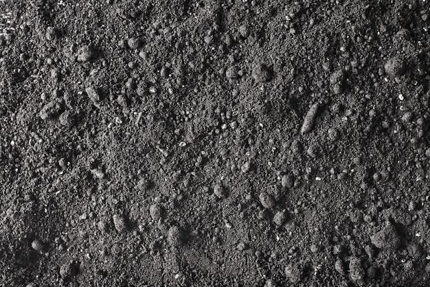 Текстура земли грязи. фон плодородной почвы.