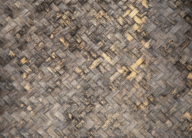 Dirty bamboo rattan texture background