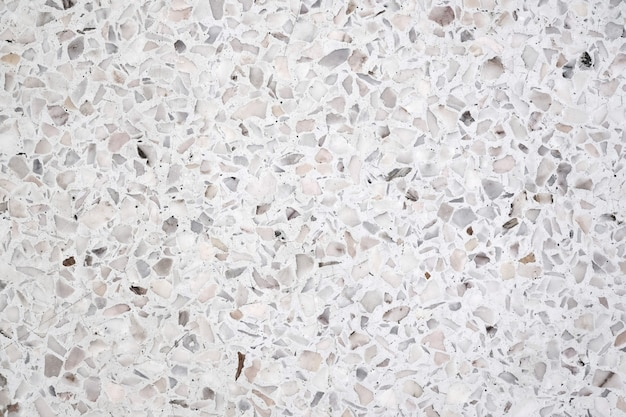 Dirty and dust terrazzo polished stone floor and wall background