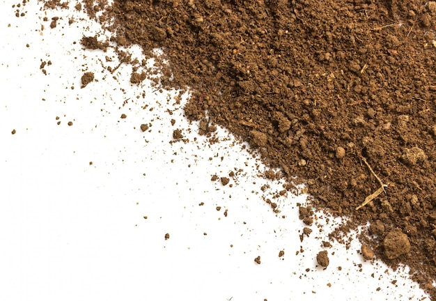 Dirty earth. natural soil texture