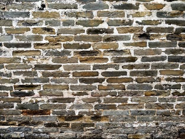 Грязная старая случайная предпосылка текстуры кирпичной стены темного цвета. случайный цвет искусственной кирпичной стены. традиционный настенный фон. древняя архитектура. лофт в винтажном стиле шебби-шик.