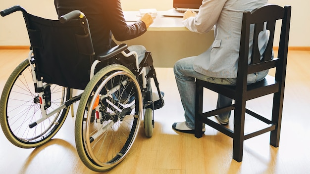 Disabled people can return to work and get job again