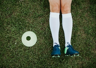Disc cone and football studs