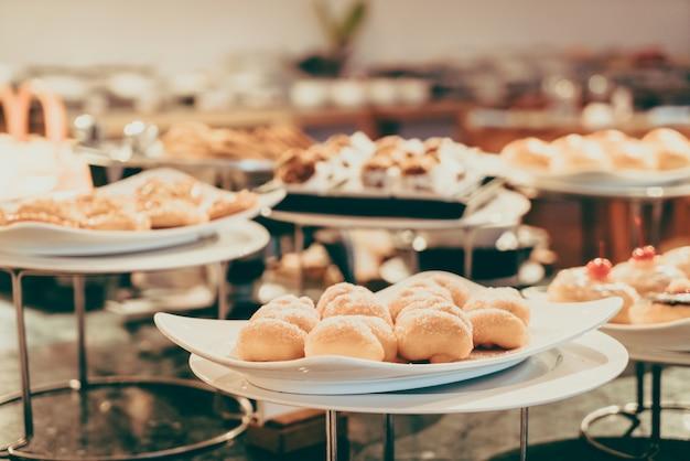Блюдо столовой мероприятие фуршет