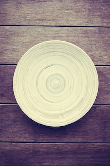 Dish natural wooden food background