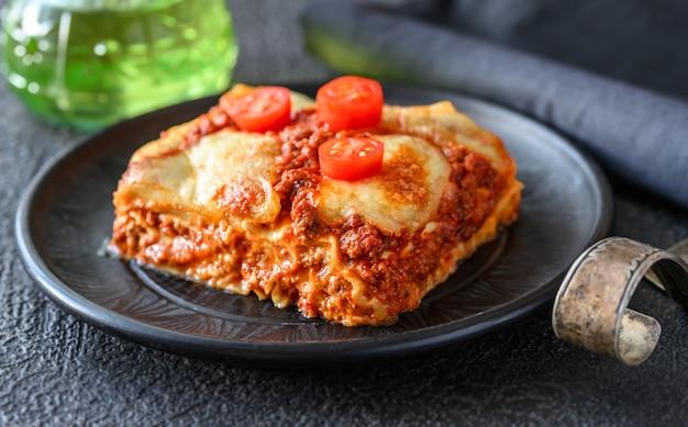 라자냐 요리