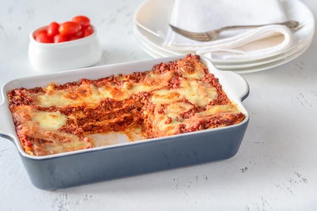 Блюдо из лазаньи