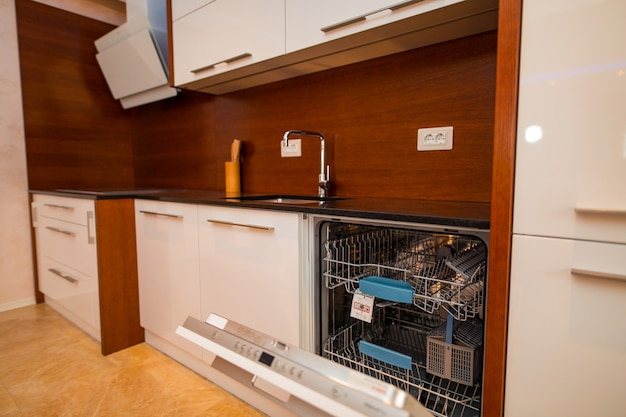 Dishwasher in the kitchen kitchen appliances