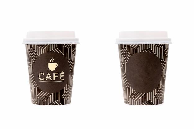 Одноразовые чашки для кофе