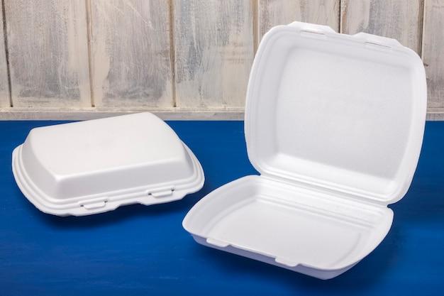 Одноразовые ящики для еды