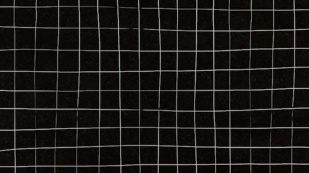 Distorted grid on black wallpaper