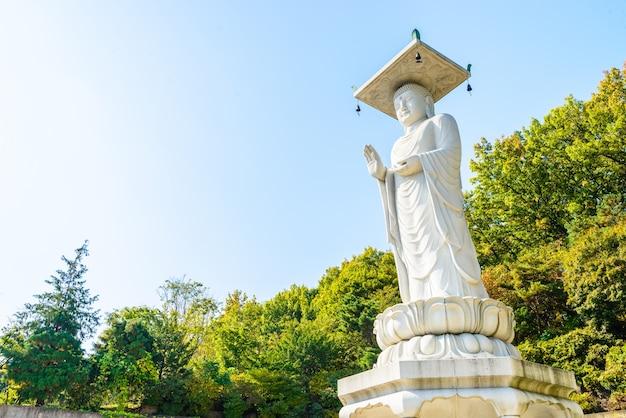 지구 스카이 라인 현대 동상 불교
