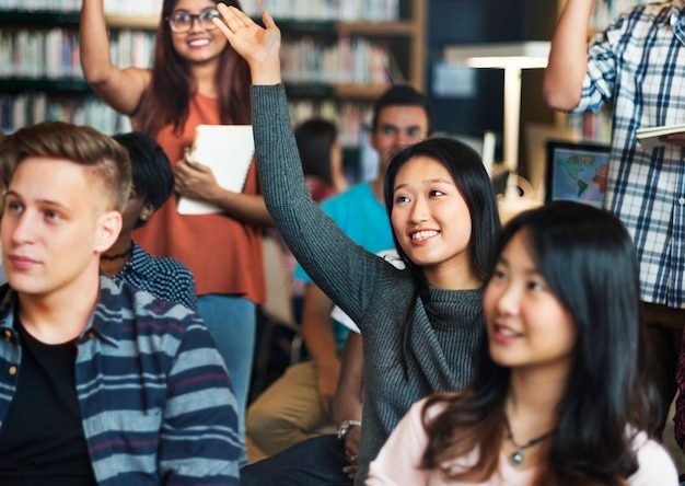 Diverse education shoot