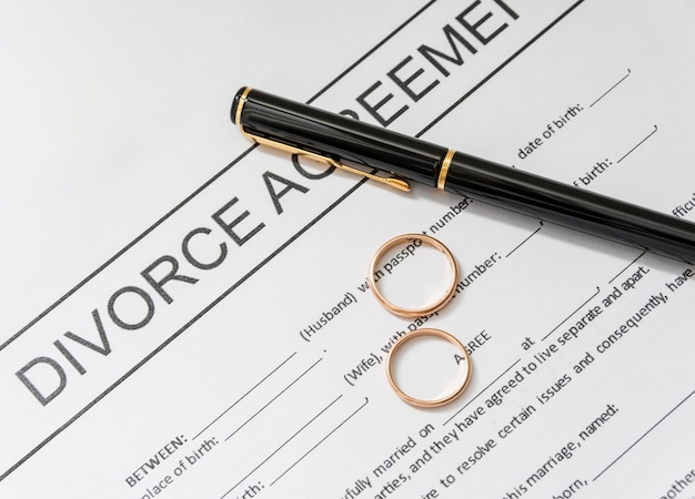 Развод с золотыми кольцами