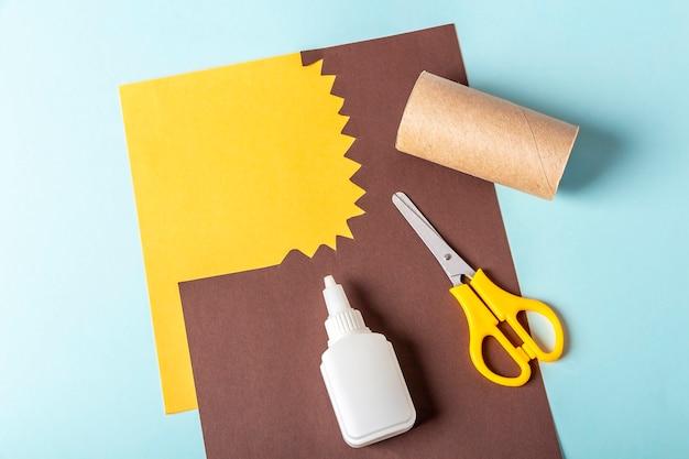 Diy 및 어린이 창의력 단계별 지침