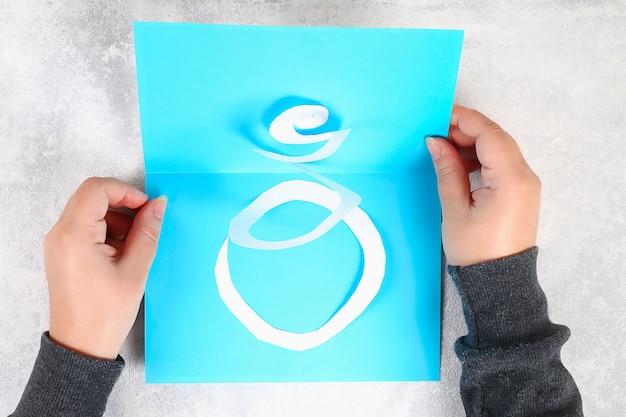 Diy greeting card on february 23