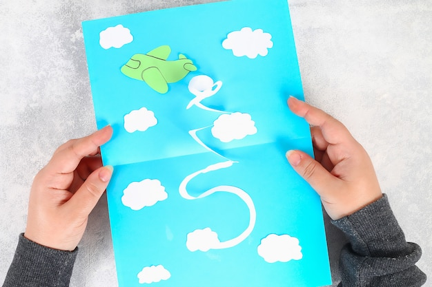 Diy открытка 23 февраля