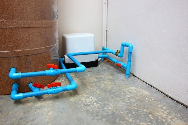 Diy 설치 물 펌프, 설치