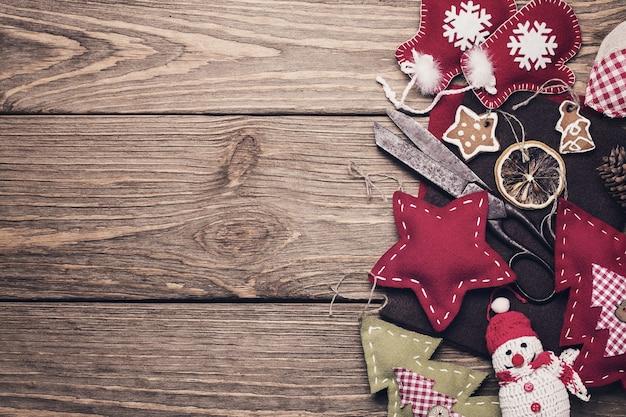 크리스마스 트리 장식을 만들기위한 diy 도구
