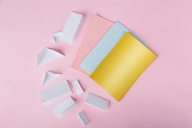 Diy tools on pink surface