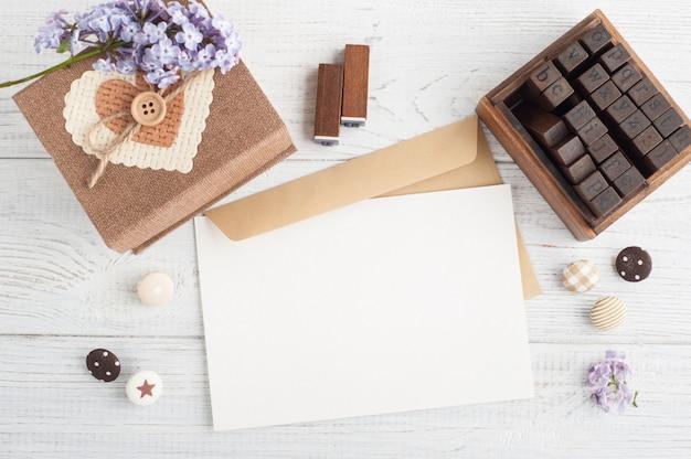 Скрапбукинг diy декор, штампы, подарочная коробка