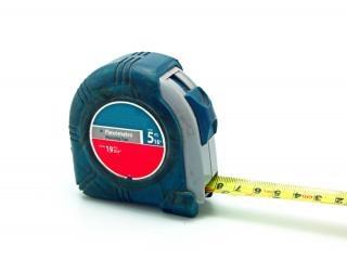 Diyの、テープを測定する