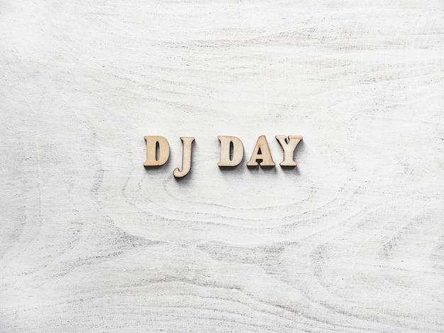 Dj day background