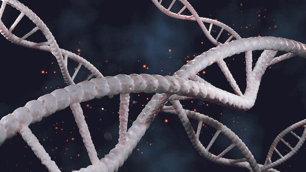 Dna background and molecular cellular analysis