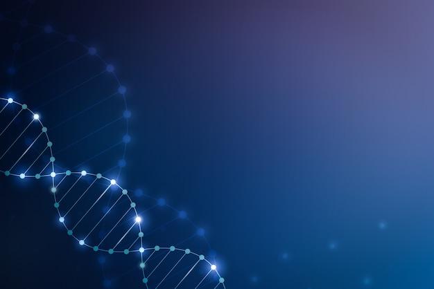 Dna 및 염색체 추상적 인 배경