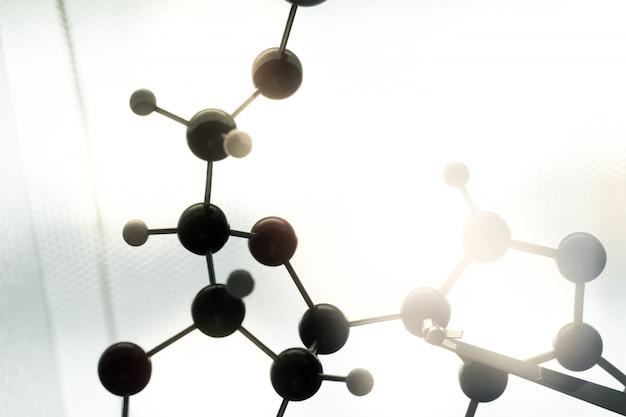 Dna、分子、実験室での化学実験