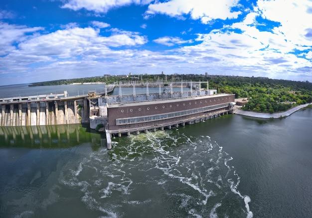 Zaporozhye의 dnieper 수력 발전소