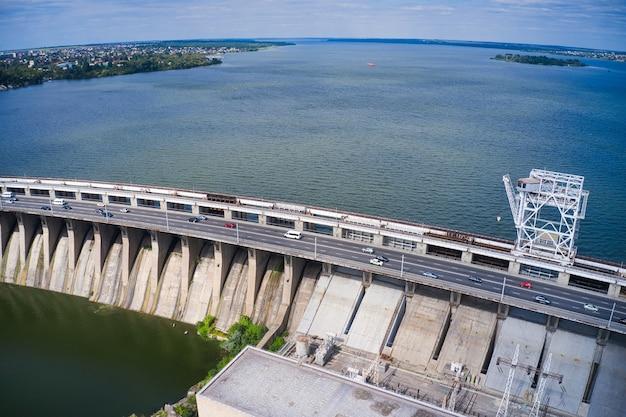 ザポリージャのドニエプル水力発電所