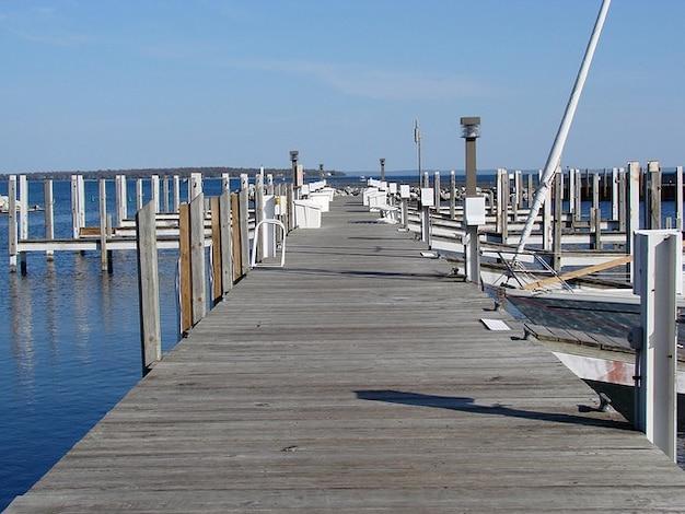 Docks water michigan lake