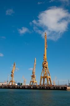 Dockyards of cadiz, spain