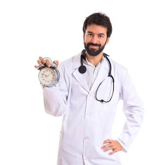 医者、白、背景