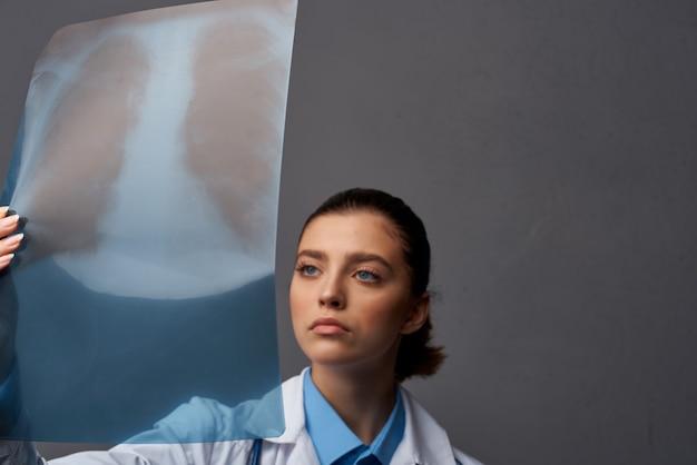 의사 방사선과 검사 엑스레이 건강