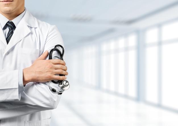 청진기를 가진 의사