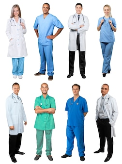 医師と看護師グループ