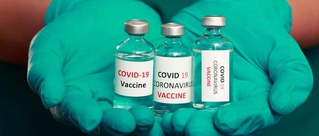 Covid-19に対して予防接種をする準備ができている医師