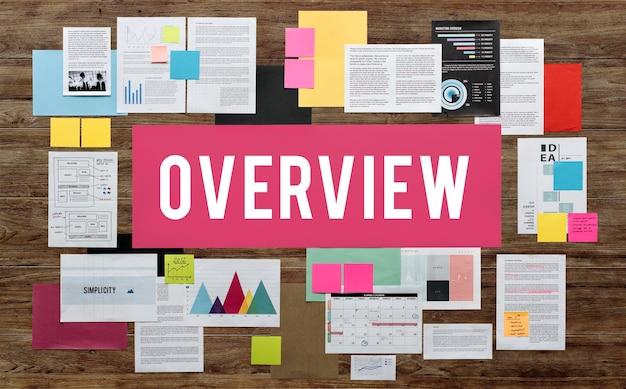 ドキュメント事務処理ビジネス戦略の概念