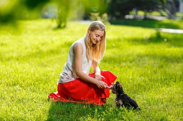 Собака и его владелец