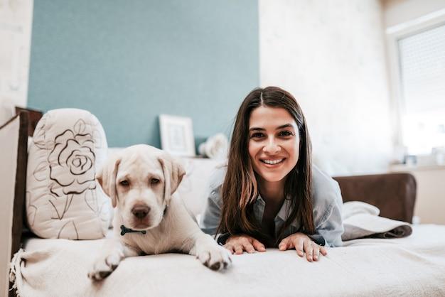 Dog is women's best friend.