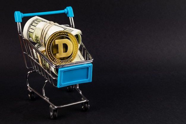 Dogecoin doge cryptocurrency means of payment in the financial sector