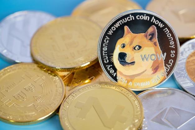 Dogecoin doge group включена в криптовалютную монету биткойн