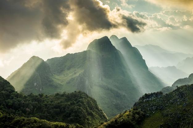 Doi luang chiang dao province chiang mai thailand landscape.