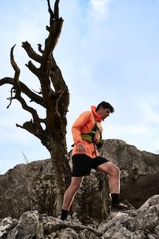 산에서 운동하기