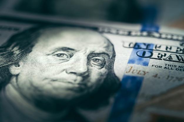 Dolar usa close up.