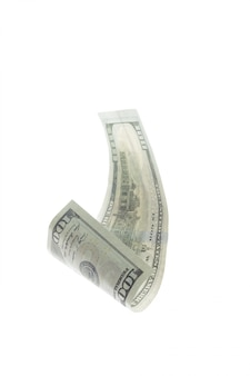 Dollar isolated on white